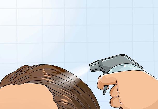 درمان خارش سر با سرکه1
