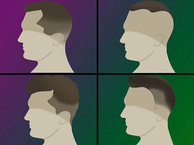 خط انداختن ابرو مردانـه محو  مدل موهای مردانـه mimplus.ir