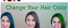 اپلیکیشن 100+ Hair Color Changer
